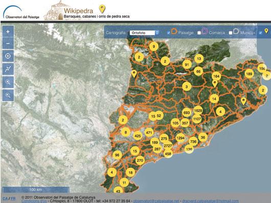 Ampliació de l'inventari Wikipedra a tota la Cerdanya